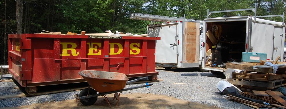 saratoga dumpster rental